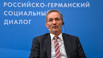 Премьер-министр федеральной земли Бранденбург Маттиас Платцек