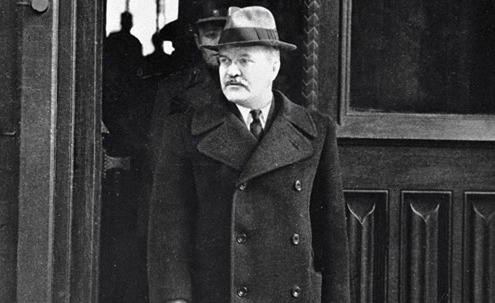Министр иностранных дел СССР Вячеслав Михайлович Молотов