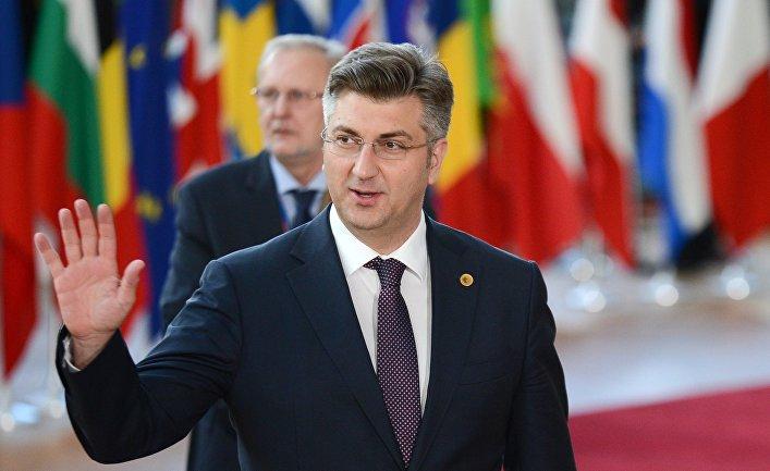 Премьер-министр Хорватии Андрей Пленкович