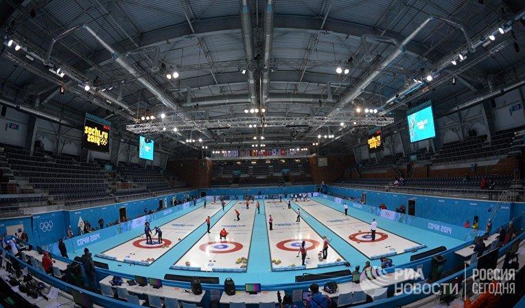 Керлинг среди женщин на XXII зимних Олимпийских играх в Сочи