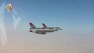 Египет наносит авиаудар по восточной части Ливии