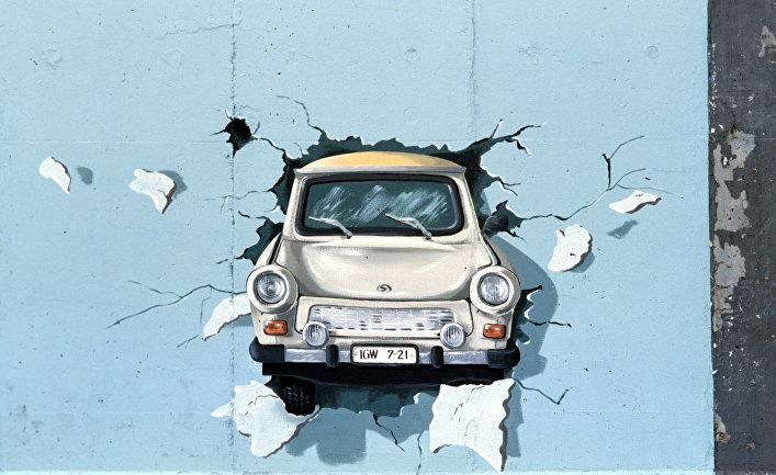 Граффити на Берлинской стене