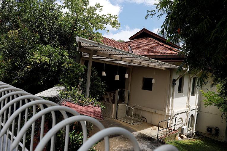 Дом бывшего премьер-министра Сингапура Ли Куан Ю