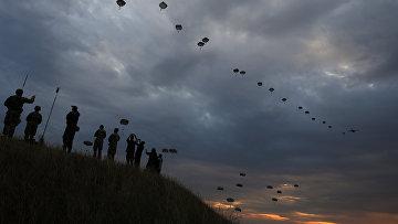 Военные учения НАТО Saber Guardian 17 на аэродроме Безмер, Болгария
