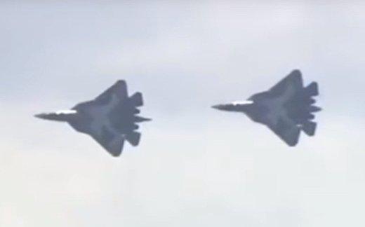 Первый «воздушный бой» ПАК ФА