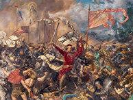 Ян Матейко. «Грюнвальдская битва», 1878