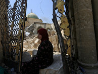 Женщина в Старом городе Мосуле
