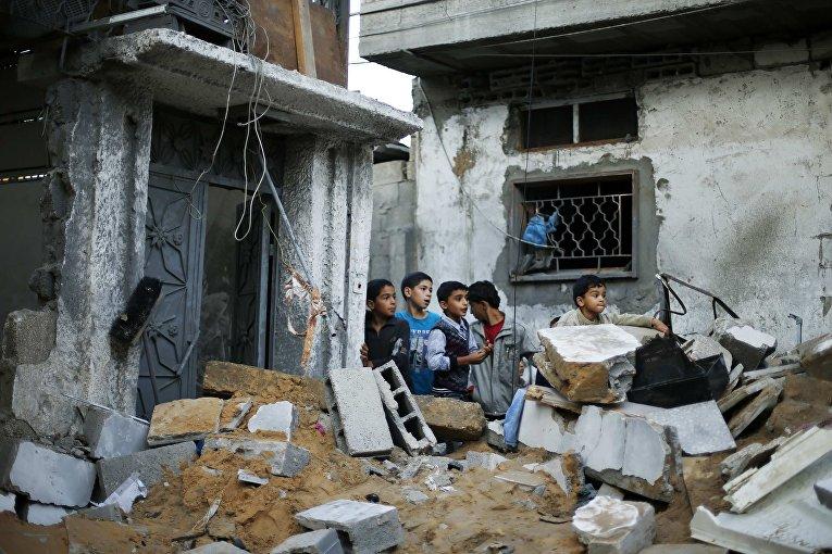 Разрушения в секторе Газа, 20 ноября 2012 г.
