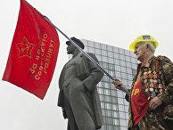 Митинг в поддержку «Донецкой Народной Республики» в Донецке