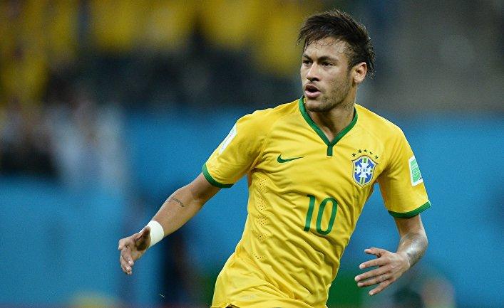 Игрок сборной Бразилии Неймар