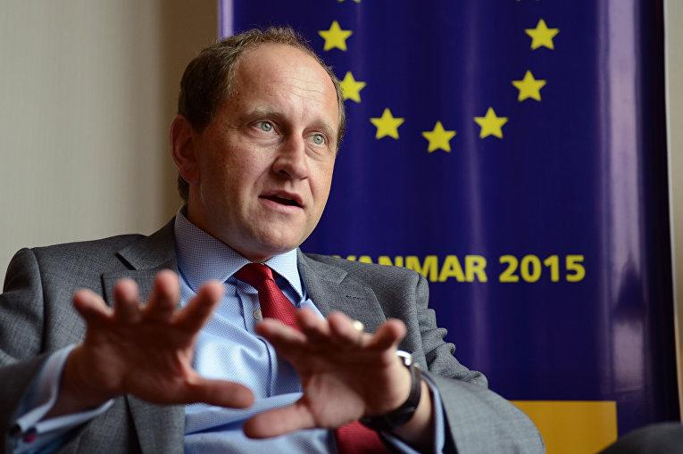 Заместитель председателя Европейского парламента граф Александр Ламбсдорф