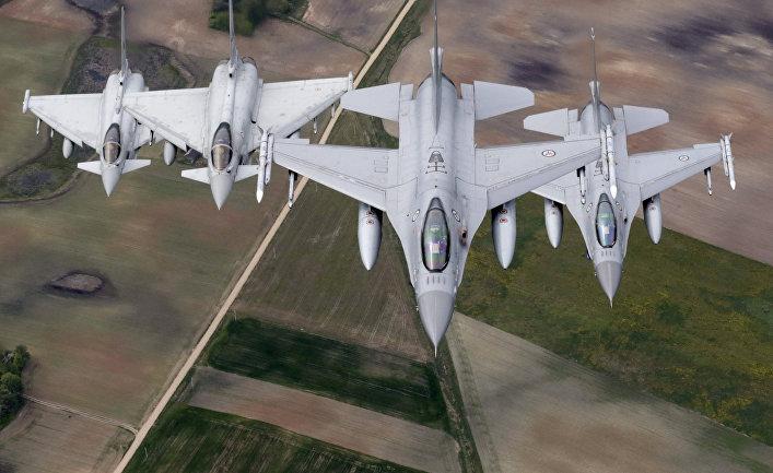 Истребители, участвующие в миссии НАТО «Baltic Air Policing» («Балтийская воздушная полиция»)