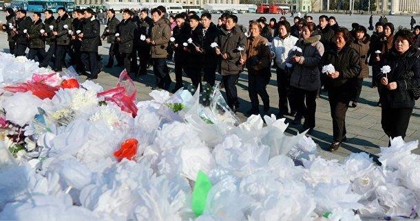 17 декабря Северная Корея отмечает годовщину смерти бывшего лидера страны Ким Чен Ира