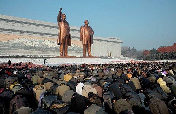 Масштабная церемония прошла в Пхеньяне