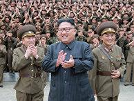 Северокорейский лидер Ким Чен Ын в командовании стратегическими силами Корейской народной армии