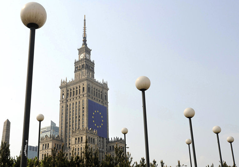 Дворец культуры и науки в Варшаве. Архивное фото