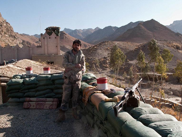 Пограничная застава, провинция Нангархар, Афганистан