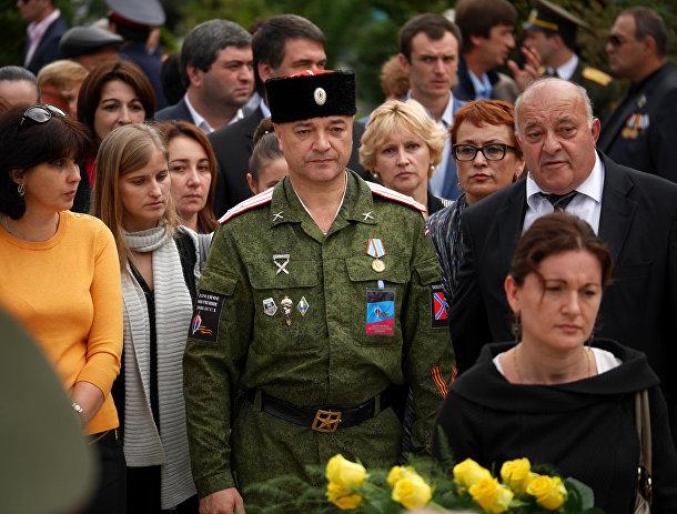 Абхазец, воюющий на востоке Украины