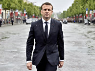 Президент Франции Эммануэль Макрон в Париже