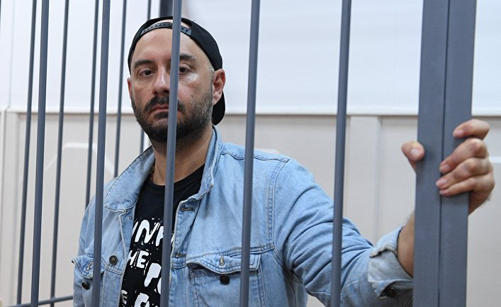 Рассмотрение ходатайства следствия об аресте Кирилла Серебренникова