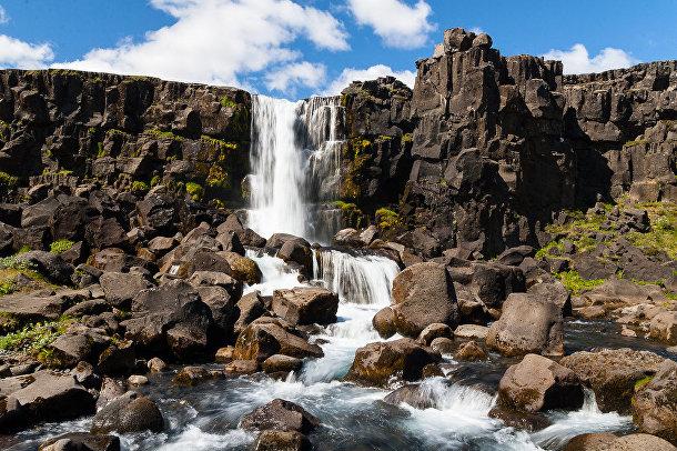 Национальный парк Тингветлир в Исландии