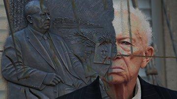 Открытие мемориальной доски Никите Хрущеву