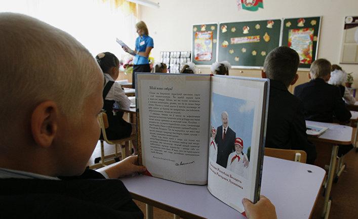 День знаний в одной из школ Минска