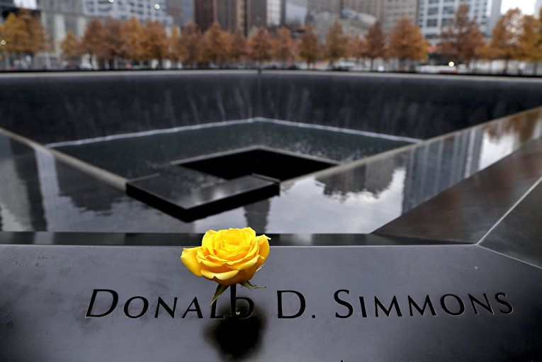 Национальный мемориал и музей 11 сентября в Нью-Йорке