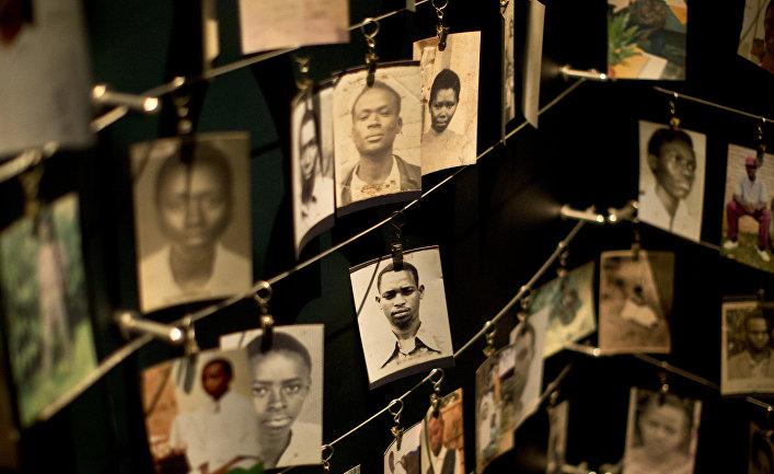 Фотографии жертв геноцида в руанде в 1994 году