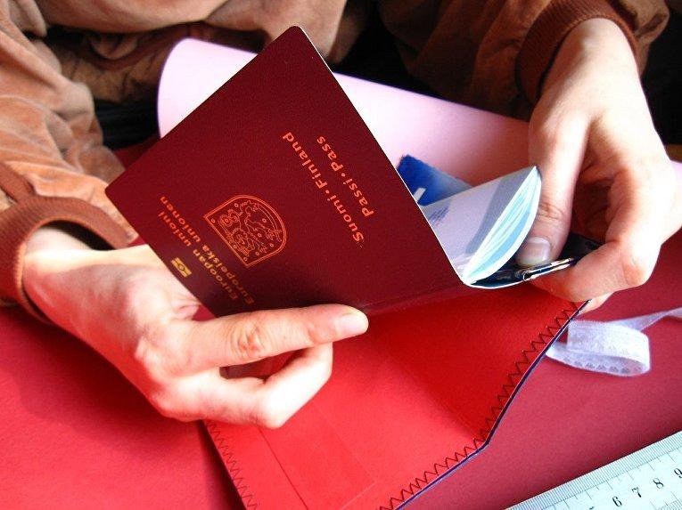 Финский паспорт
