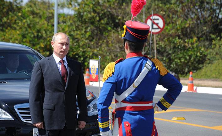 Официальный визит В.Путина в Бразилию. День второй