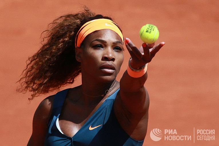 Американская теннисистка Серена Уильямсна