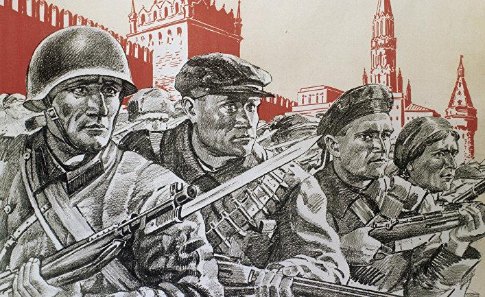 Любовь и секс между российскими солдатами