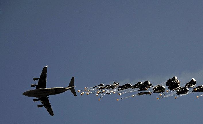 Самолет Boeing C-17 Globemaster III ВВС США
