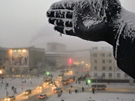 Зима в Якутске