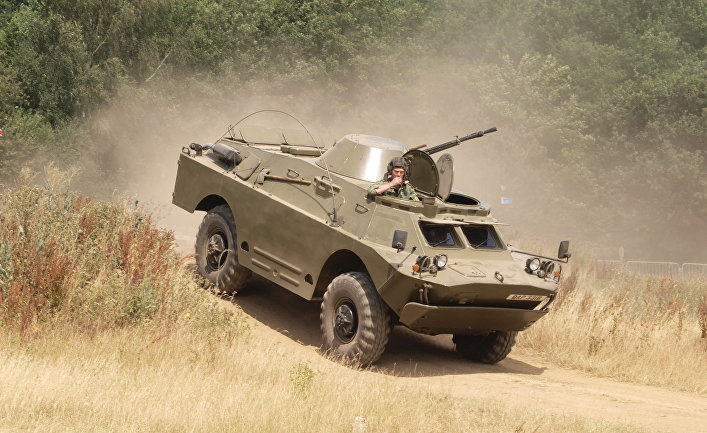 Бронеавтомобиль БРДМ-2