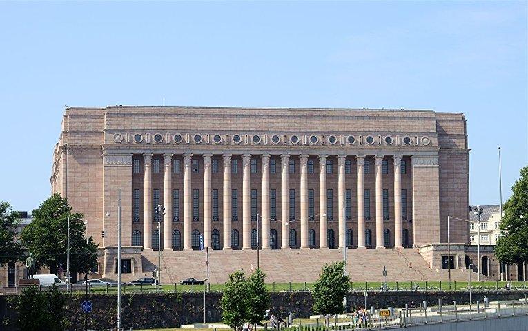 Здание парламента Хельсинки, Финляндия