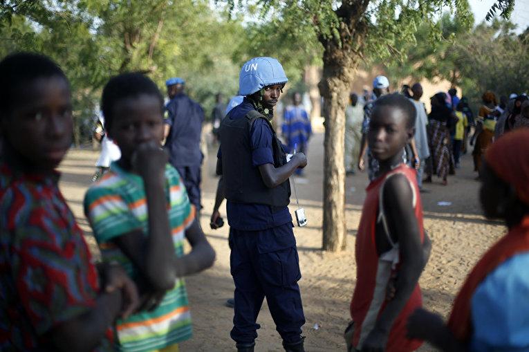 Миротворцы ООН в Гао, Мали