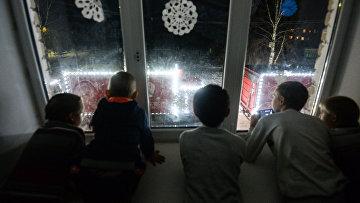 Дети в детском доме в Новгородской области