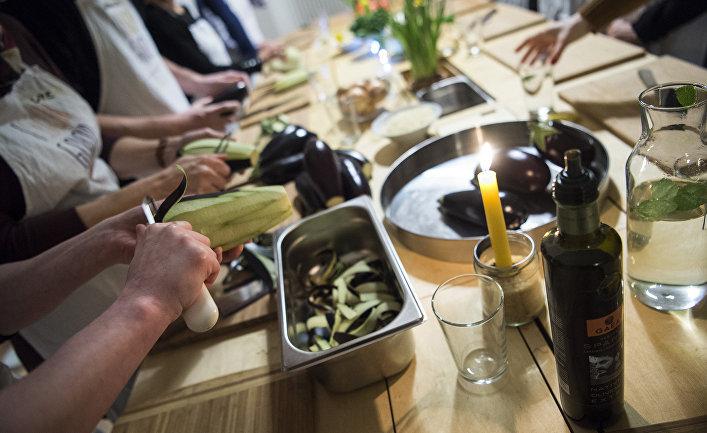 Приготовление блюд сирийской кухни в Берлине
