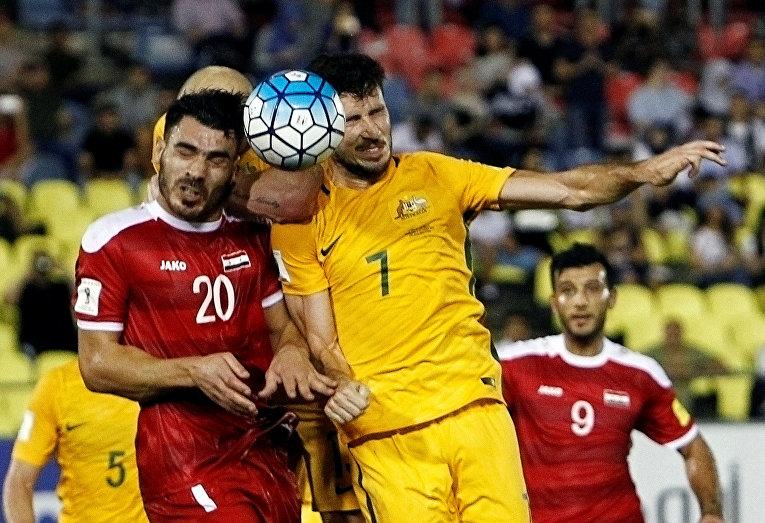 Отборочный матч Чемпионата мира по футболу между сборными Австралии и Сирии
