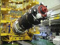 «Союз-2.1а»/ТГК «Союз МС-06». Накатка головного обтекателя