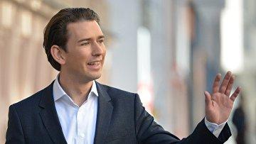 Лидер Австрийской народной партии Себастьян Курц