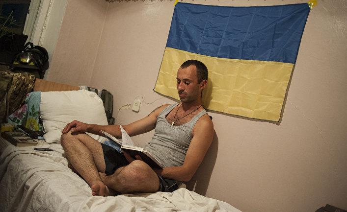 Украинский военный из батальон «Донбасс»