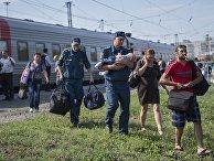 Беженцы из Украины прибыли в Омск