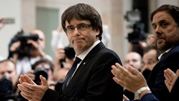 Председатель правительства Каталонии Карлес Пучдемон