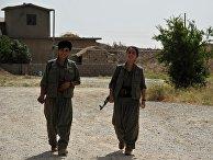 Бойцы Рабочей партии Курдистана