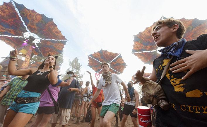 Танцевальный фестиваль в городе Митчелл