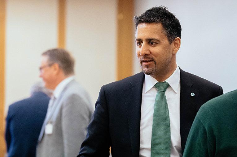 Вице-спикер Стортинга, представитель партии Venstre («Левые») Абид К. Раджа