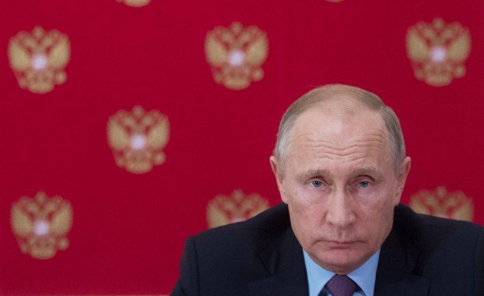 Президент РФ В. Путин встретился с президентом Кипра Н. Анастасиадисом
